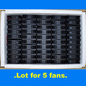 Yate Loon D80Sm‑12A Cooling Fan DC 12V .14A 2.5 x 80mm, 2pin cooling fan {Lot of 5 Pcs}