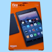 Amazon Kindle Fire HD8 16GB 8inch With ALEXA Voice Interactive Blue