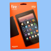 Amazon Kindle Fire HD7 8GB 7inch With ALEXA Voice Interactive Black