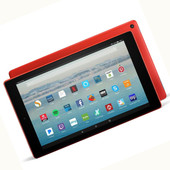 Amazon Kindle Fire HD10 32GB 10.1 In 7th Gen. Working, Good Condition Red
