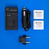 Bonadget Battery Kit For NB-4L 1200MAH Canon PowerShot SD1000 SD750 IXUS 230