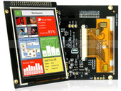 "EastRising ER-TFT035-6 LCD 3.5"" 320x480 TFT Display Module,OPTL Touch Screen w/Breakout Board"
