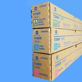 Konica Minolta TN512 3/C CMY Toner TN512C TN512M TN512Y Bizhub C554, C454, C554e, C454e