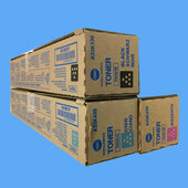 Konica Minolta TN321 3/C CMK Toner TN321C TN321M TN321K C224 C224e C284 C284e C364 C364e