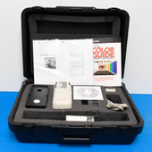 X-Rite SP64 Portable Sphere Spectrophotometer Lab values 4 print fabric and physical objects