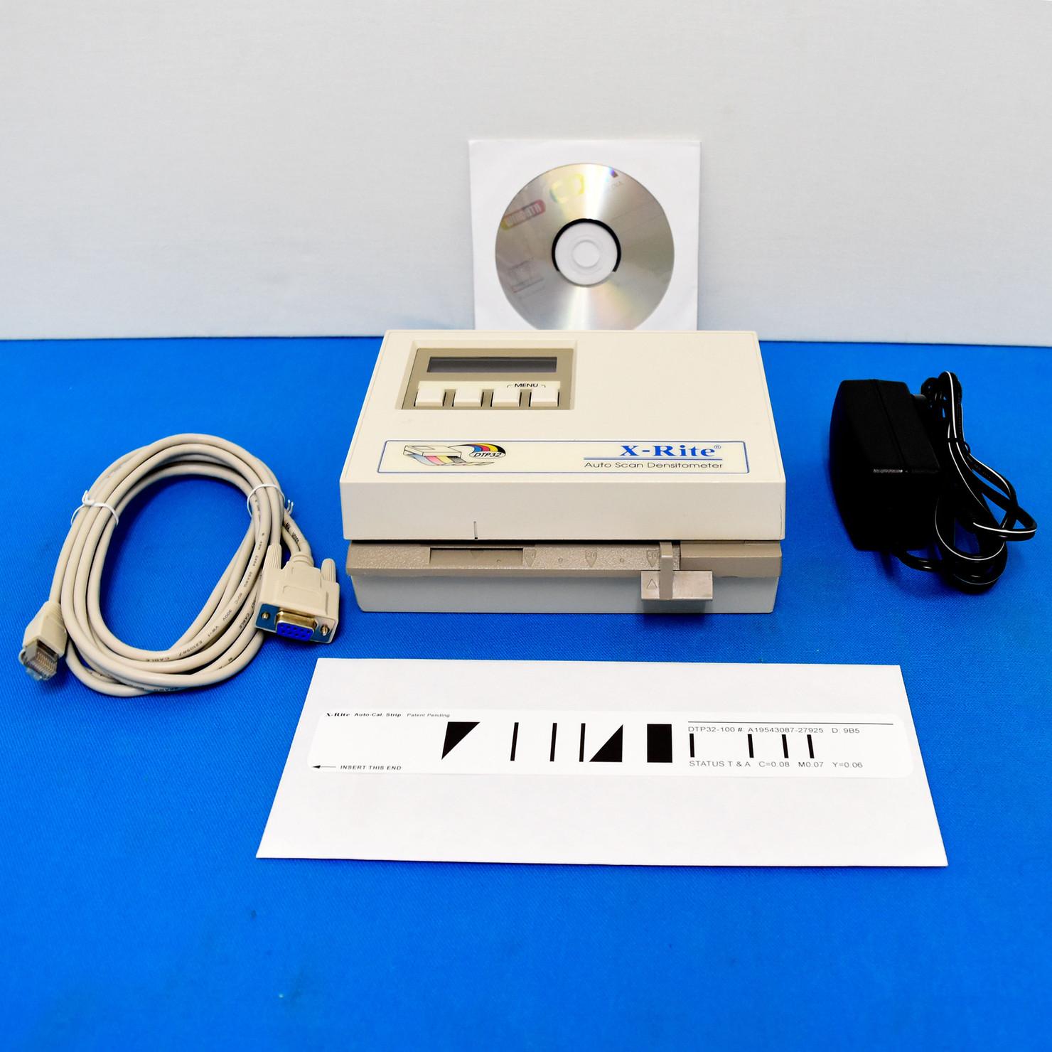 X-Rite DTP32R Auto Scan Densitometer DTP 32R Excellent Condition Xrite DTP32