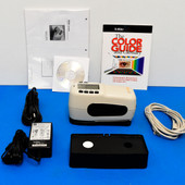 X-Rite SP64 Portable Sphere Spectrophotometer Lab values 4 print fabric and physical objects.