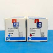 HP 125A CB543A CB541A Magenta & Cyan LaserJet CP1215 CM1312 CP1515n CP1518n