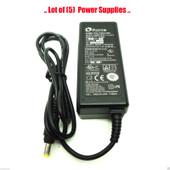 Plextor PS API-8682 AC Adapter Input 100-240V  50-60Hz, Output 9V 2A {Lot of 5}