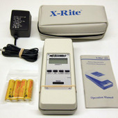 X-rite 331 Transmission Densitometer Battery Operated B/W Xrite Excellent Cond.