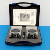SKF TMEB 1 Belt Alignment Tool w/ Manual, V guides and Case Excellent Condition
