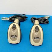 2x Motorola Symbol DS6707 USB 2D Barcode POS Scanner DS6707-SR20001ZZR w/Cables