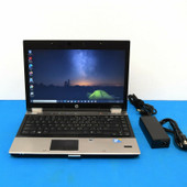 "HP EliteBook 8440p 14.1"" i5-M520 2.40GHz 6GB Ram 320 GB Win 10 Pro & MS office"