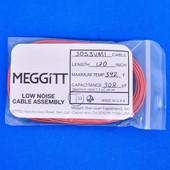 "Meggitt Endevco 3053VMI-120, 120"" 392˚F Cap. 308 pF Low noise high impedance dif"