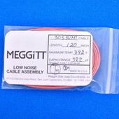 "Meggitt Endevco 3053VMI-120, 120"" 392˚F Cap. 322 pF Low noise high impedance dif"