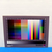 "Monaco IT8.7/2 (T.8) Reflective 5""x7"" (177mm x 127mm) Scanner Calibration Target"
