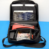 HARRIS FLUKE ISDN TS250 with Manual Carrying Bag, Charger and accessories.