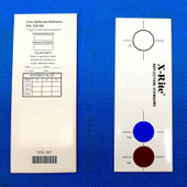 X-Rite 939-100 Color Reflection Reference 3 colors Calibration Tile