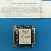 X-Rite 1356-20 QA-2000 DB25 Female to DP25 Male Interface Adapter