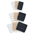 Each package contains one of each colour Beige / Black & White