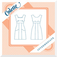 Pattern - ROOIBOS Ladies Dress by Colette SIZE 0-18