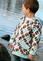 Pattern - LITTLE DOWNTOWN BOY by Make It Perfect SIZE 0-5