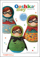 Pattern - OOSHKA BOY PATTERN KIT by The Red Thread