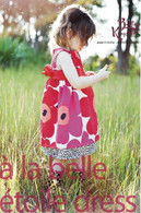 Pattern - A LA BELLE ETOILE DRESS by Betsy Kingston (2-7YRS)