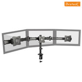 Brateck Triple Monitor Arm Mounts with Desk Clamp Up to 27""