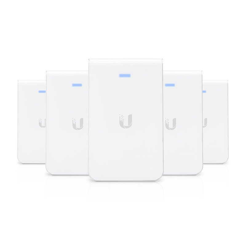 ubiquiti unifi in wall wifi ac pro access point 5 pack tang