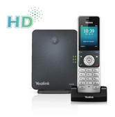 Yealink W60P Cordless DECT Solution ( includes 1x W60B Base Station & 1x W56H Handset )