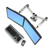 Ergotron LX Dual Side-by-Side Desk Mount Arm
