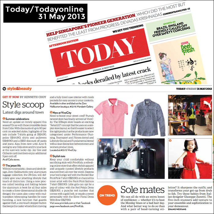 Today/Todayonline Feature on PriviKids