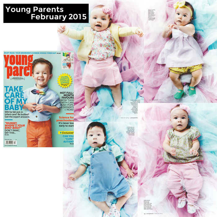 PriviKids featured in Young Parents magazine (February 2015)