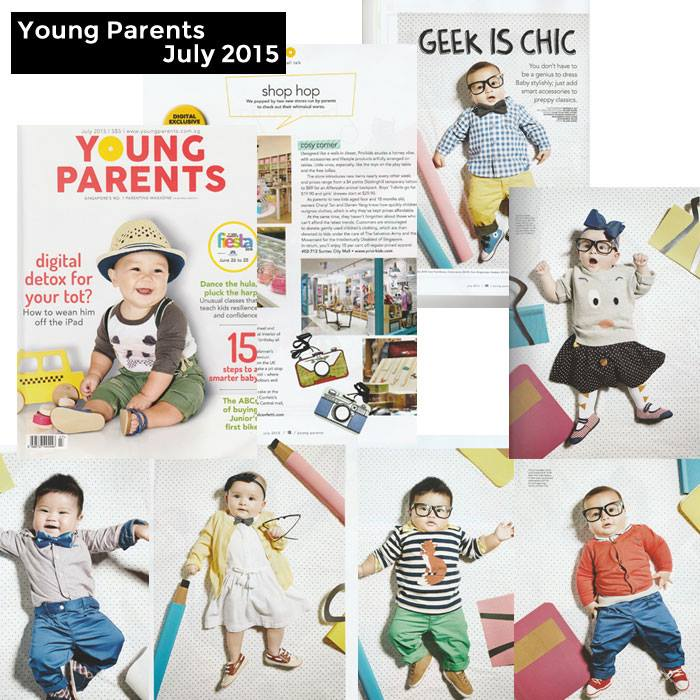 PriviKids featured in Young Parents magazine (July 2015)