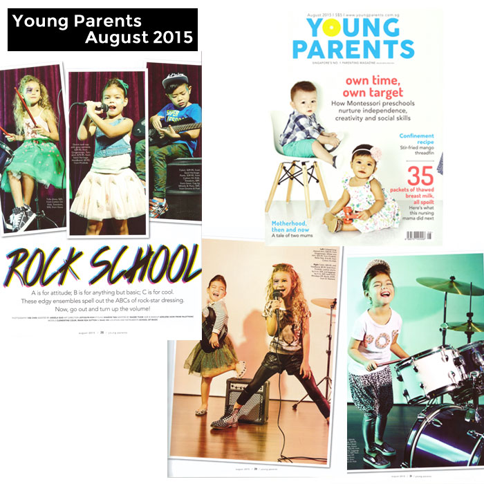 PriviKids featured in Young Parents magazine (August 2015)