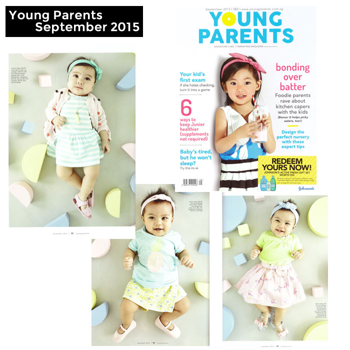 PriviKids featured in Young Parents magazine (September 2015)
