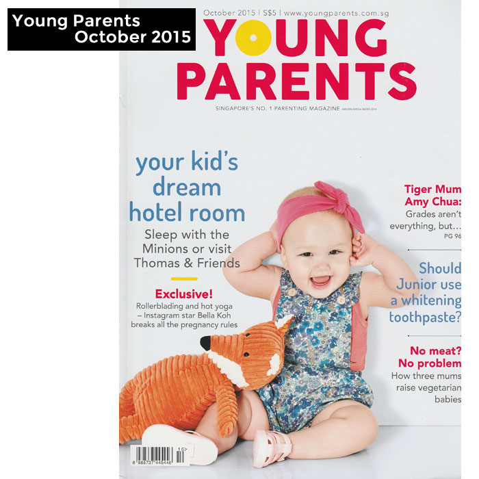 PriviKids featured in Young Parents magazine (October 2015)