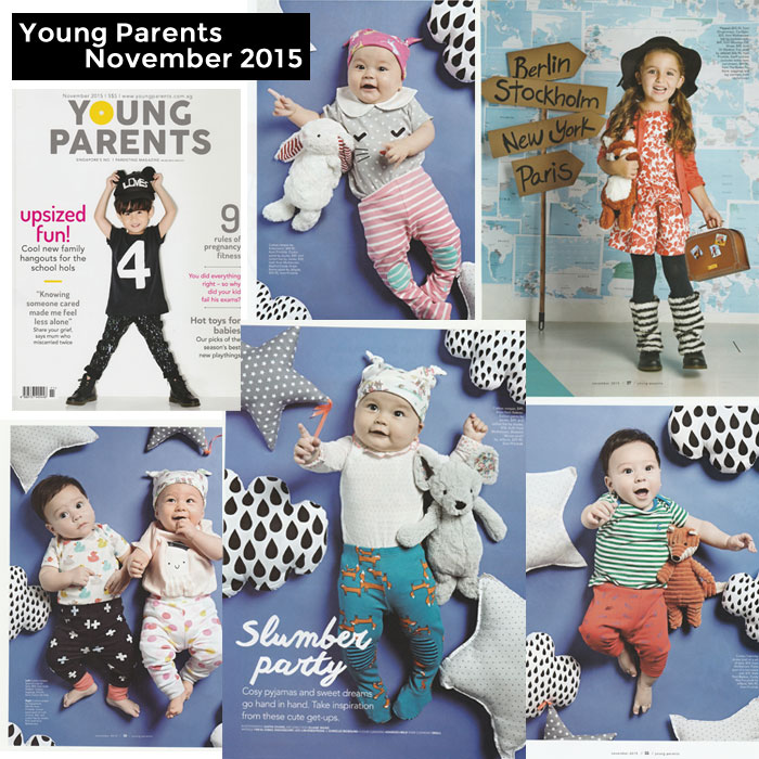 PriviKids featured in Young Parents magazine (November 2015)