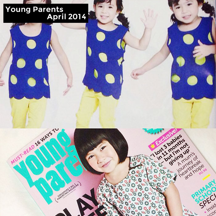 PriviKids featured in Young Parents magazine (April 2014)