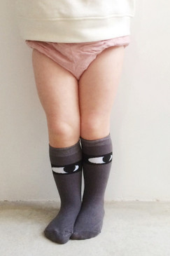 Hubble + Duke Knee High Socks - Bandit