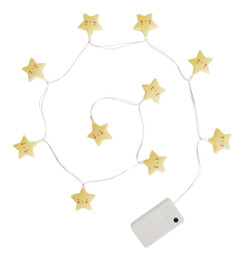 String Lights Star Yellow