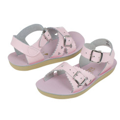 Saltwater Sandals Sweetheart Shiny Pink (Kid)