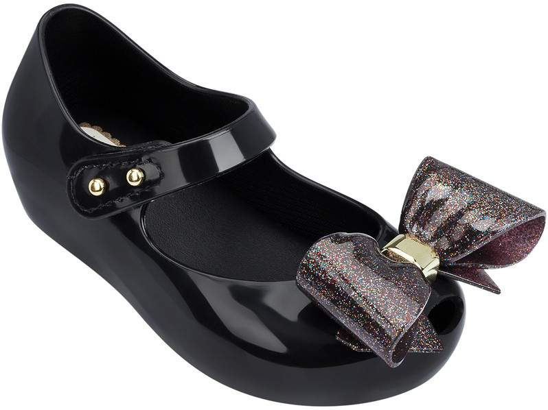 98799ca141 ... Mini Melissa Ultragirl VIII BB Black. Image 1. Image 1. Click to enlarge