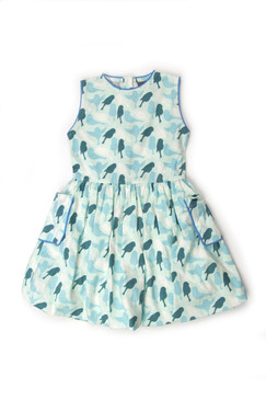 Kate Quinn Sparrow Sleeveless Bubble Dress