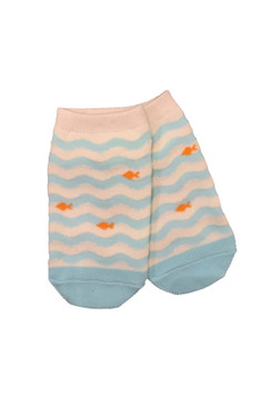 Fishes in the Sea Ankle Socks