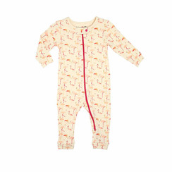 HannaBe Sleepy Romper Flamingos
