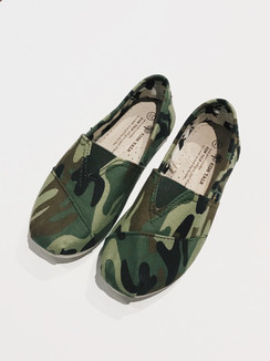 Camo Printed Shoes