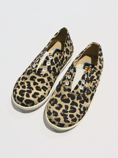 Brown Leopard Print Shoes