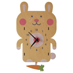 Rabbit Pendulum Clock